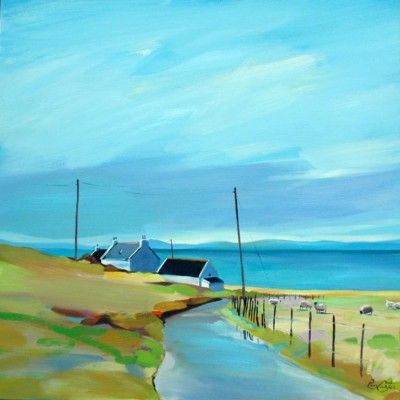 Room with a Northerly View by Scottish Contemporary Artist Pam CARTER