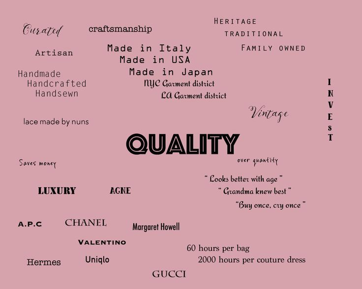 Assessing Quality of Garments