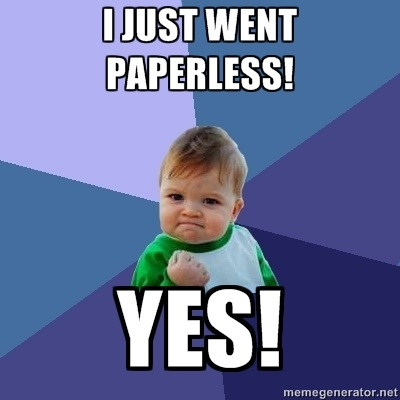 paperless office Information management that everyone uses focus on the content, not the rules - enable people to more naturally work with content, in their preferred applications, without the concern of information governance policies access information from anywhere - via any digital device, office 365, email applications or within other line of business systems.