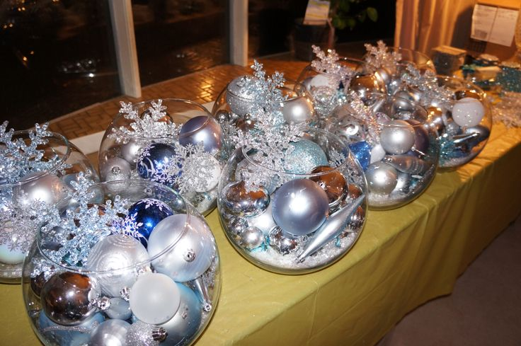 Best snowflake centerpieces ideas on pinterest