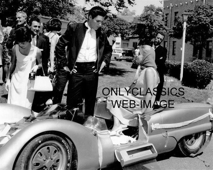 1963 ELVIS PRESLEY SEXY ANN MARGRET SPORTS CAR AUTO RACING PHOTO VIVA LAS VEGAS   eBay