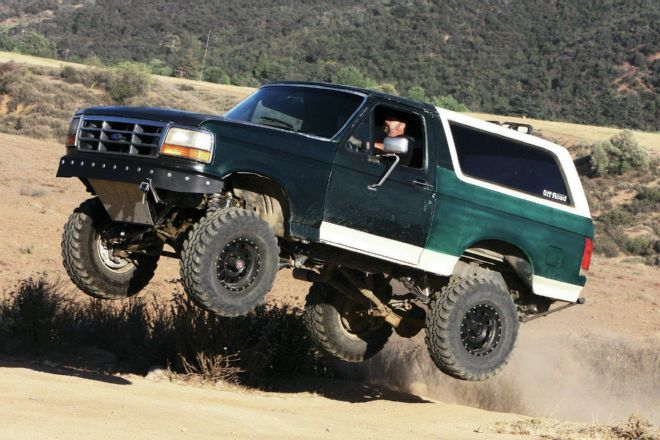 Ford Bronco Long Travel Basics Don T Scrap That Ttb