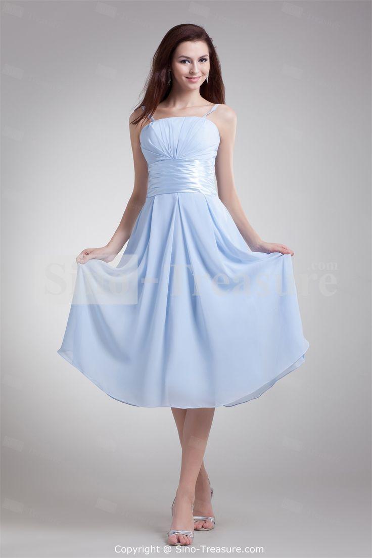 Light sky blue bridesmaid dresses
