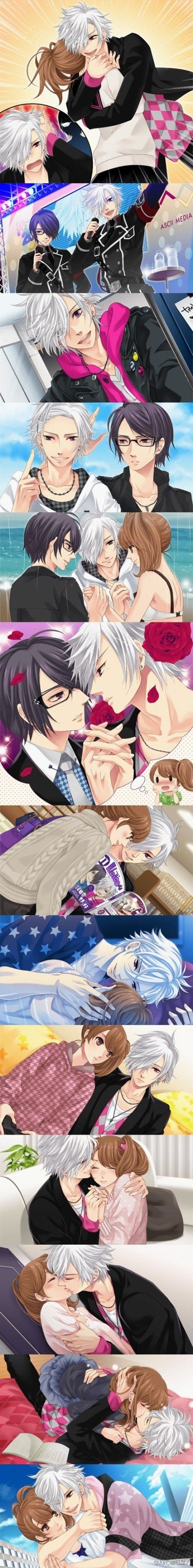 # Brothers conflict #  #anime does any one know this anime please leave a comment if you know it <3