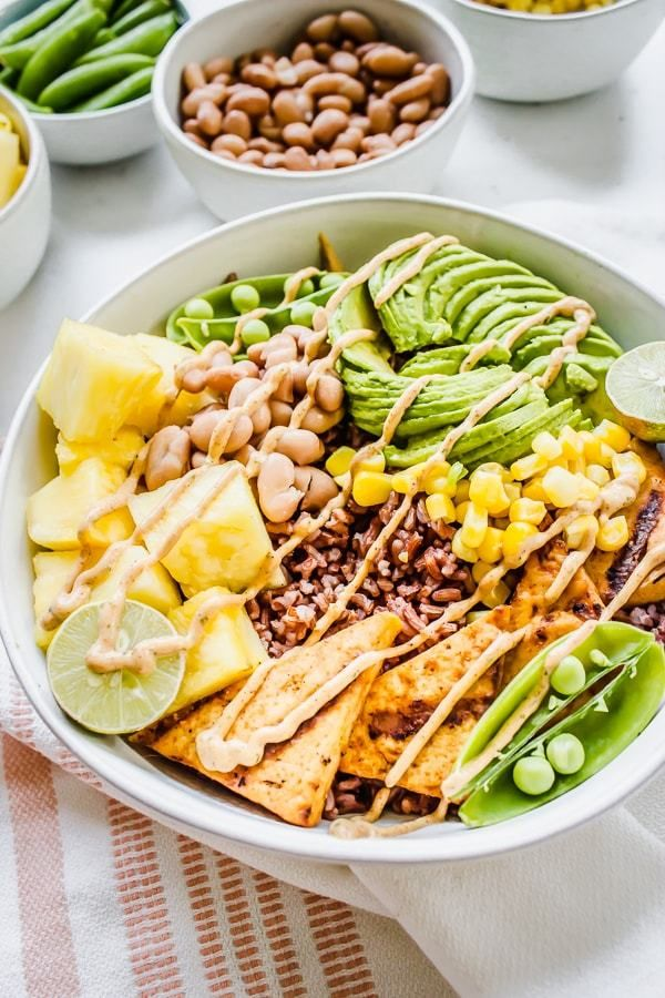 Chipotle Ranch Pineapple Rice Bowls Healthy Little Vittles Recipe Vegetarian Recipes Healthy Recipes Easy Healthy Lunches