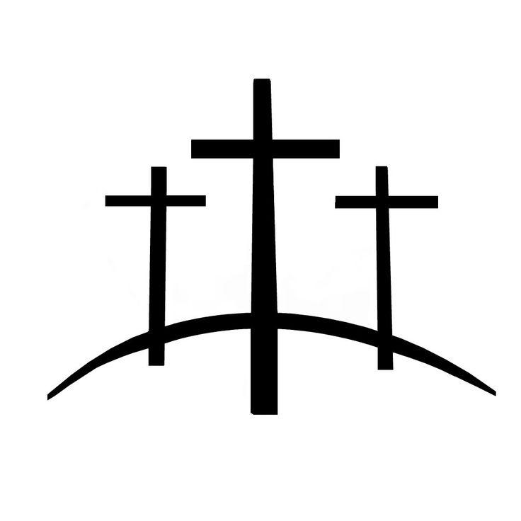 3 Crosses A Black White Speedpaint Drawing By Brentenlena