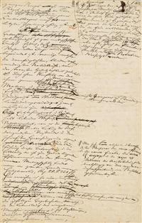 Arthur Schopenhauer, Philosoph (1788-1860). Eigenhändiges Manuskript. #Koller #Auktionen #Auctions