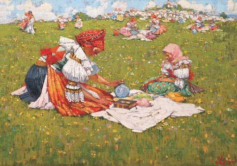 moravský folklor - Moravian folklore  Jožka Úprka