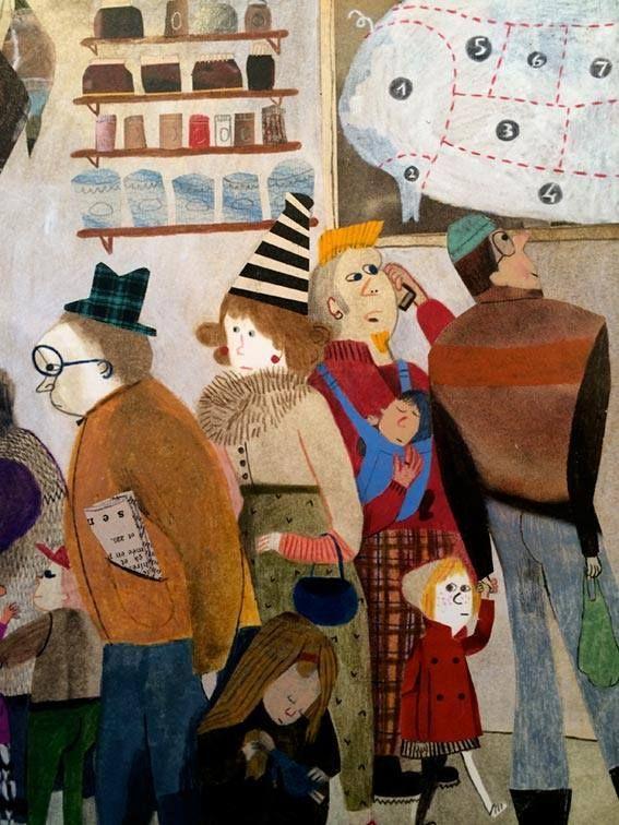 Le merveilleux Velu Dodu Petit- Beatrice Alemagna