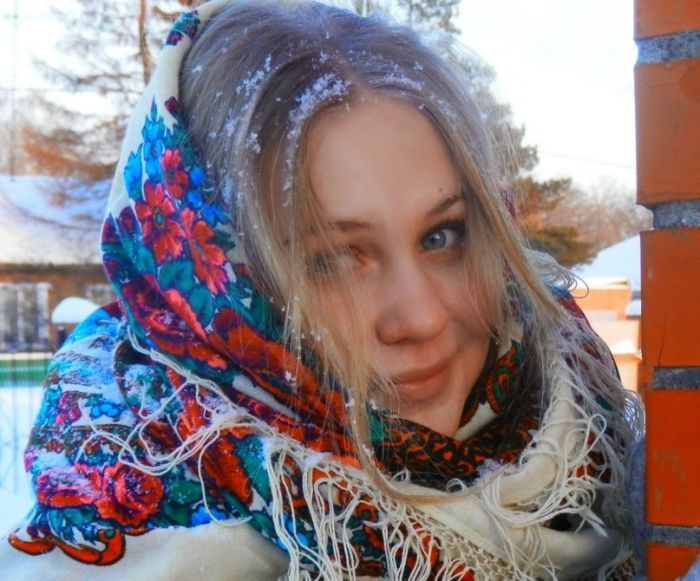 Русские деревенские девушки (25 фото)