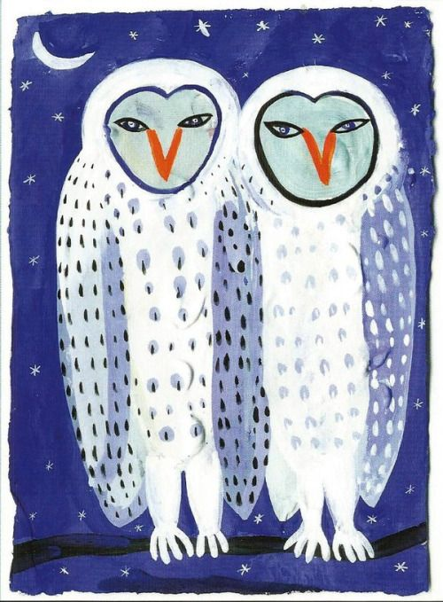 'Two Snowy Owls' by Christopher Corr