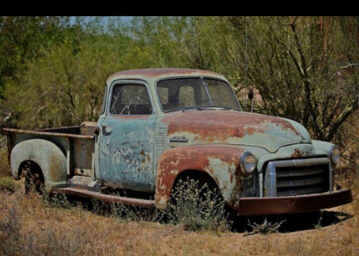 0ld 1950 rusty GMC Truck | Old rusty classic truck ...
