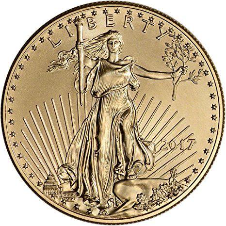 2017 American Gold Eagle (1 oz) $50 Brilliant Uncirculated U.S. Mint