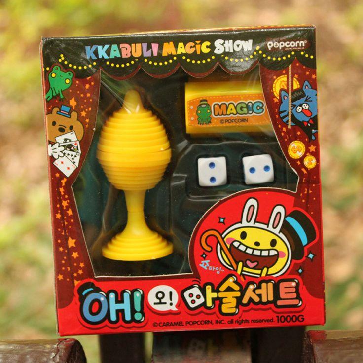 Новых детских игрушек игровые комплект магия реквизит костюм семейные игры праздничные подарки цвет вкривь и вкось