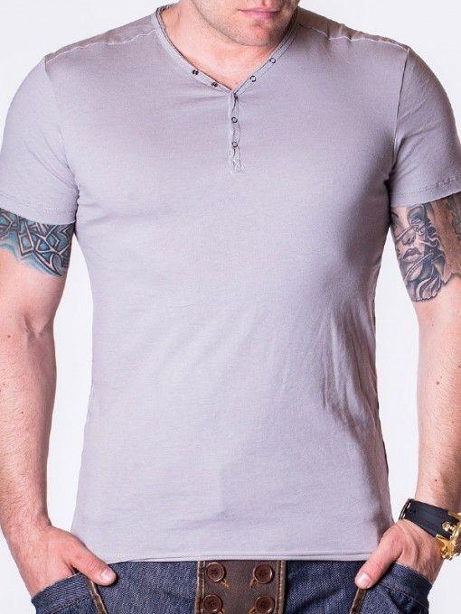 Tricou barbati New Fashion gri