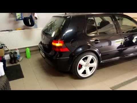 Otwieranie klapy bagażnika z pilota VW Golf IV - YouTube