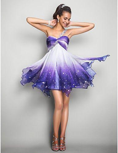 Magníficos vestidos cortos de fiesta económicos   Vestidos baratos