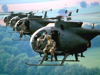 MH-6s. there are only two groups that fly these.  I just cant tell if this is Kentucky of the Carolinas