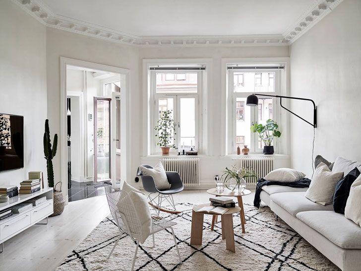 Scandinavian Interior For Easy Living 80 Sqm Craftsman Home