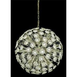 UGE - Blossom 60w Crystal Ball Chandeliers