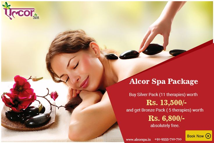 | SPECIAL SPA PACKAGE!! |  Get More Service, Pay Less Money! Now avail #AlcorSpa's Silver Pack worth Rs. 13,500/- and get Bronze Pack worth Rs. 6,800/- absolutely free.  Get 16 therapy sessions at the price of just 11 therapies.  Visit: alcorspa.in/book-appointment/ to book an appointment today.  Hurry!! Limited period offer.   #AlcorSpa #SpaPackage #BestSpaInDelhi #RelaxYourself #GetMore #PayLess #SpaServices #AvailNow #BookAnAppointment