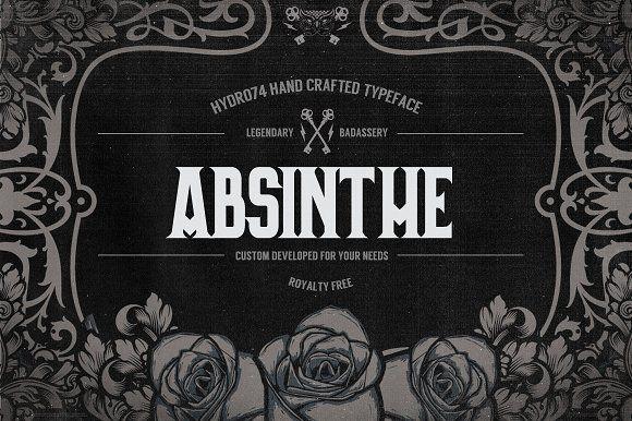 Absinthe by Hydro74 on @creativemarket