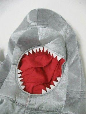 Child Shark Costume 1 Piece Jumpsuit Jumper 2 Years Old Children NWT