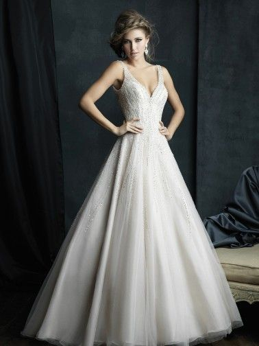 Allure+Couture+Wedding+Dresses+-+Style+C382