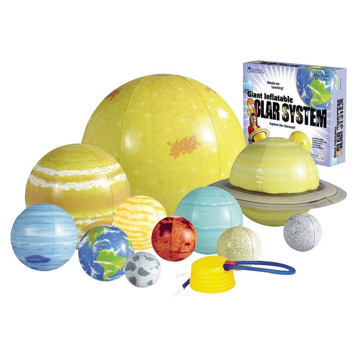 Inflatable Solar System Set Solar System Planets And Moons Planet For Kids