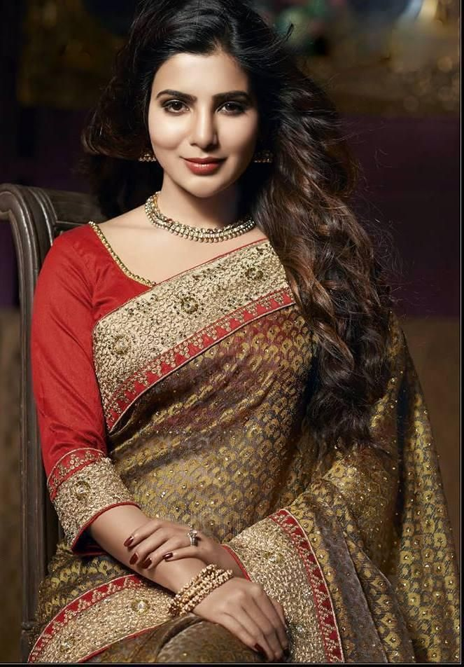 OMG! 10 times Samantha looked like a modern Godess in saree