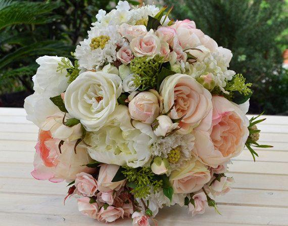 Amelia - Wedding Bouquet - Artificial Bouquet - Wedding Flowers