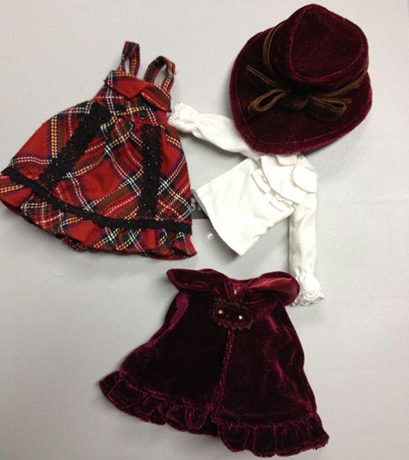 "4PCS 12"" Blythe Doll Factory Blythe's Original Stella Savannah's Outfit JS57 in Dolls & Bears, Dolls, By Brand, Company, Character | eBay"