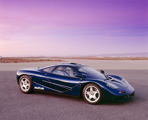 McLaren F1 GT 1993 - one of the first test cars built..