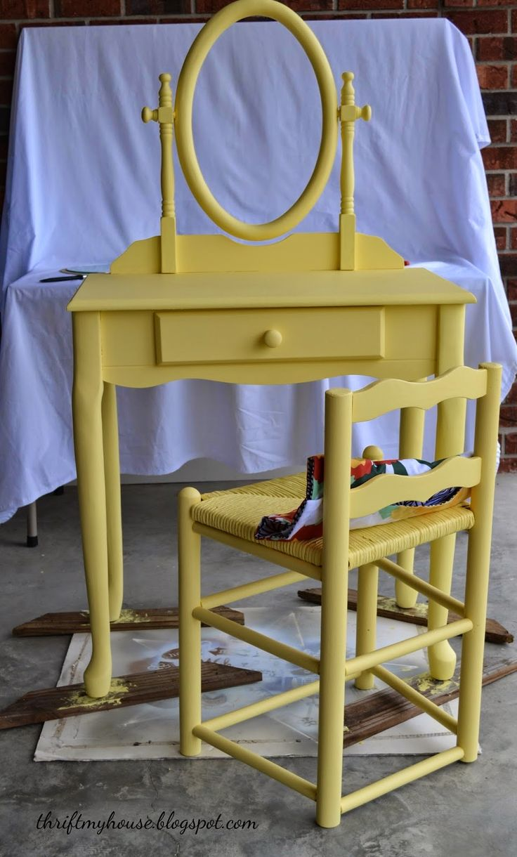 Thrift My House: Thrift Store Furniture Makeover