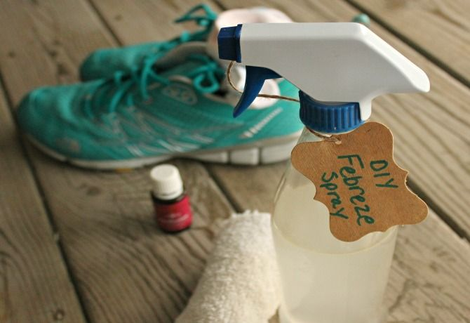 My homemade Febreze® spray is just a few ingredients and it's totally effective at eliminating all kinds of odors
