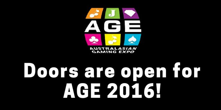 The doors are now open! Welcome to the Australasian Gaming Expo!