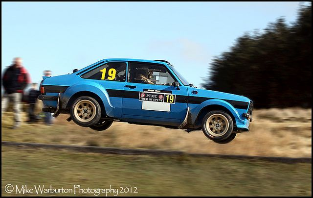 Flying Escort by Mike Warburton Photography, via Flickr #racing #vintage #rally