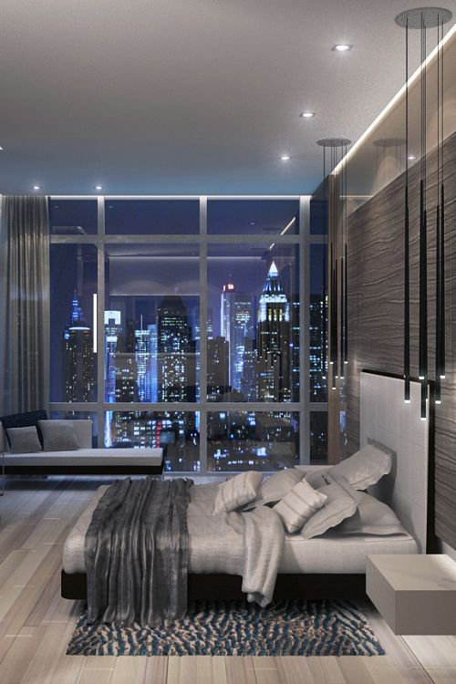 A Room With View Contemporary Bedroom DecorModern Luxury BedroomLuxury DecorLuxury DesignLuxury