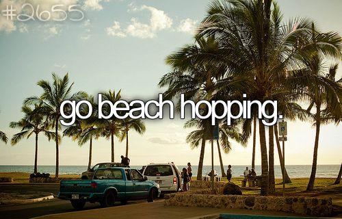 .Summer Bucketlist, Buckets Lists, Die Lists, Beach Hopper, Beach Hopping3, California Beach, Fun, Places, Buckets Listplac