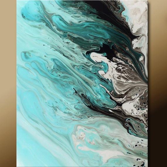 Abstract Print, artist Destiny Womack