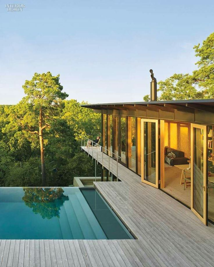 Box On Stilts With Pool Outdoor Pool Weekend House