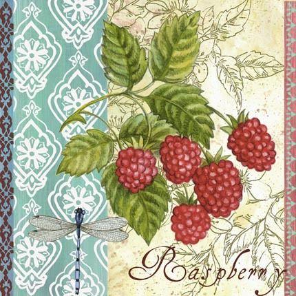 Raspberries ~ Elena Vladykina
