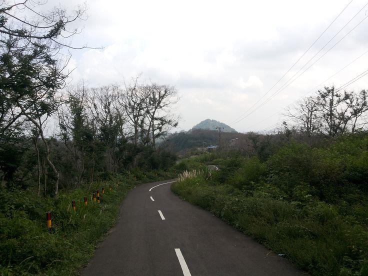 green kelud mountain