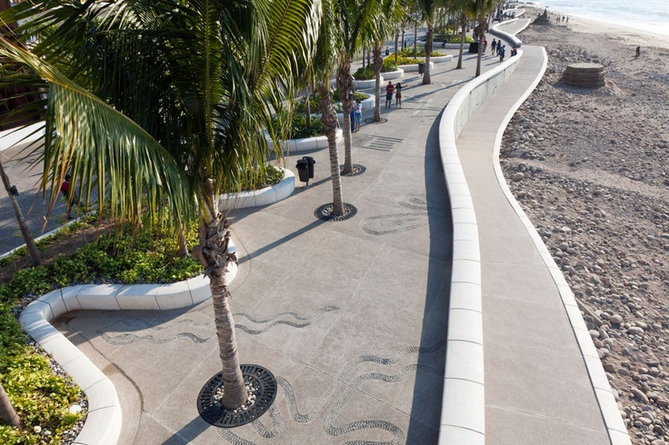 Malecon, Puerto Vallarta. WEST 8