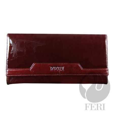 FERI CRIMSON WALLET, made with Italian leather  (click on pic to go to my website)