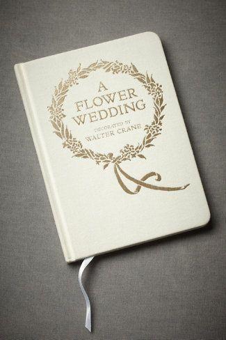 a flower wedding, so charming!
