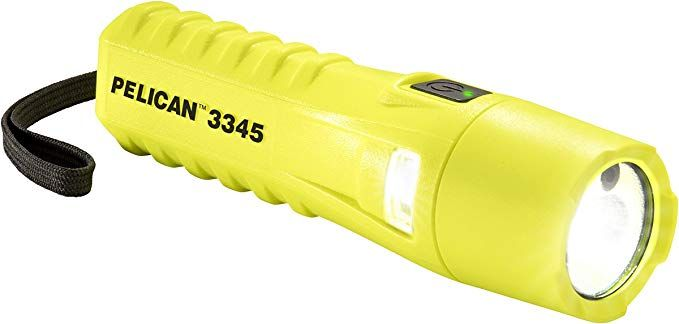Pelican 3345 Flashlight  Dual Beams  Spot And Flood