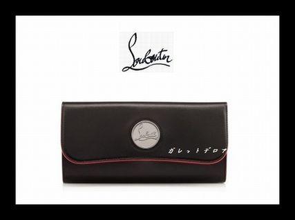☆2014SS☆送料込☆ クリスチャン・ルブタン Riviera長財布