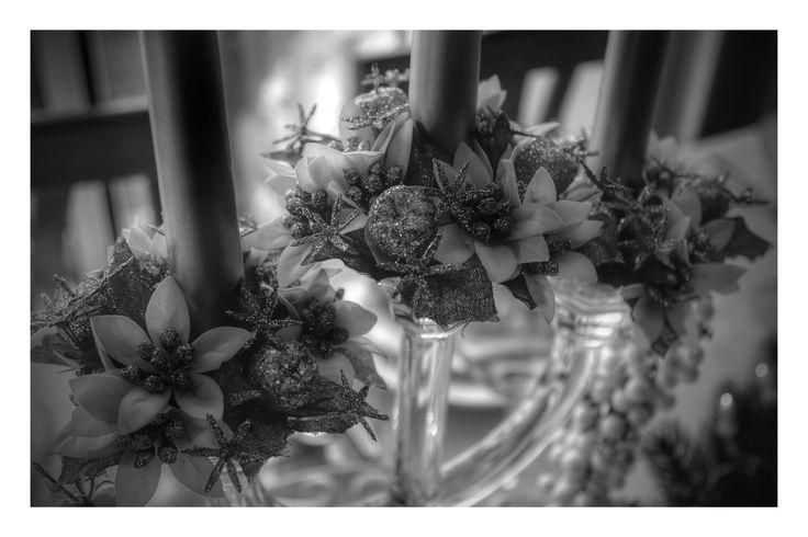Xmas 2014 at Chiara's  crystal chandelier: Villeroy & Boch