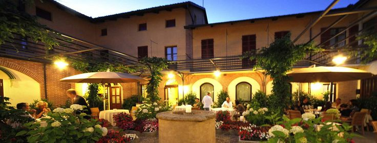 Antica Corona Reale, Piedmont, Cervere, 2 Michelin Stars